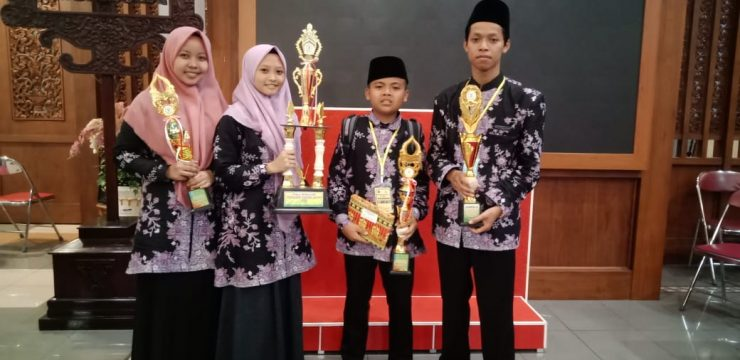 MTs Salafiyah Juarai MTQ Pelajar  Cabang Tartil
