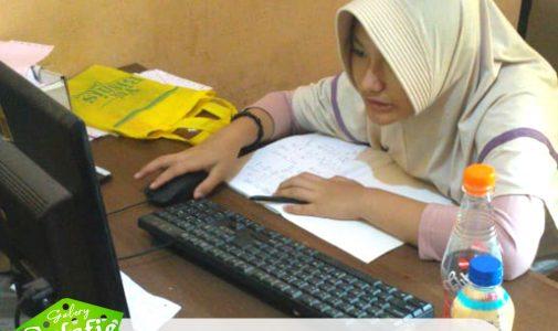 MTs Salafiyah Melaksanakan Ujian PPDB Online