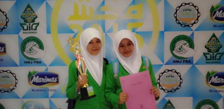 Prestasi Bulan Oktober 2015 MA Salafiyah Kajen