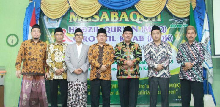 Ratusan Santri mengikuti Musabaqoh Hifdzil Qur'an dan Qiro'atil Kitab di Yayasan Salafiya Kajen Pati
