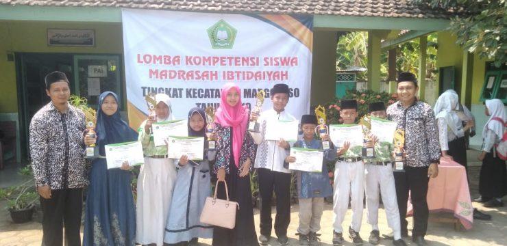 MI Salafiyah Sabet 7 Medali dalam Lomba Kompetensi Siswa (LKS) Tingkat KKMI Margoyoso