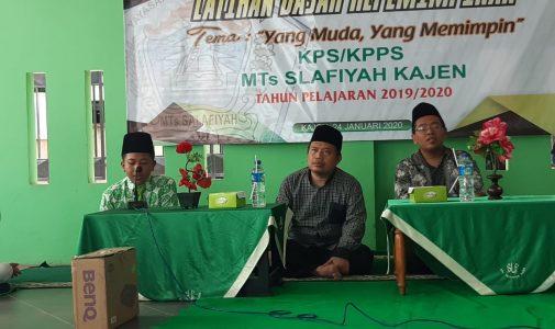 Organisasi KPS dan KPPS MTs Salafiyah Laksanakan Pelatihan Dasar Kepemimpinan