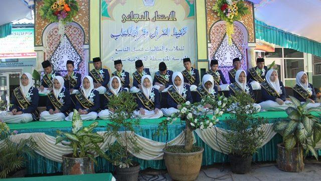 Meningkatkan Kualitas Lulusan MTs Salafiyah Laksanakan Ujian Tahfidz dan Kitab